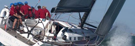 jacht w akcji
