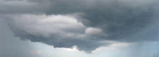 Sztormowe chmury