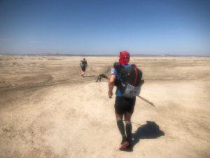 Biegnę gdzieś po pustyni